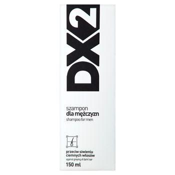 DX2 Szampon dla mężczyzn przeciw siwieniu ciemnych włosów 150 ml