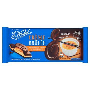 E. Wedel Czekolada gorzka o smaku deseru crème brûlée 100 g