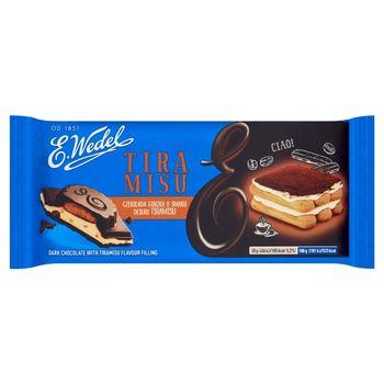 E. Wedel Czekolada gorzka o smaku deseru tiramisu 100 g