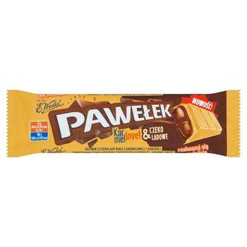 E. Wedel Pawełek Batonik karmellove! & czekoladowe 45 g
