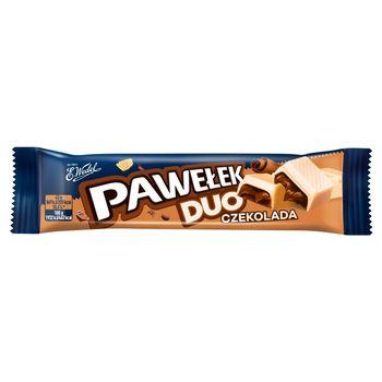 E. Wedel Pawełek Duo Batonik czekolada 45 g