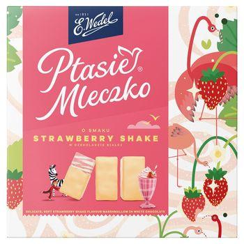 E. Wedel Ptasie Mleczko o smaku Strawberry Shake 360 g
