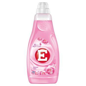 E Skoncentrowany płyn do zmiękczania tkanin różana łąka 2 l (66 prania)
