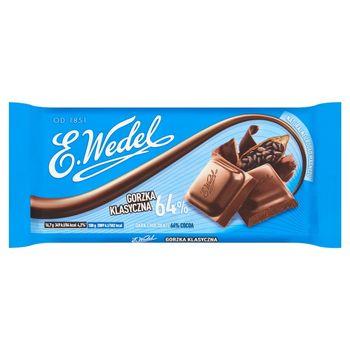 E. Wedel Czekolada gorzka klasyczna 64% 100 g