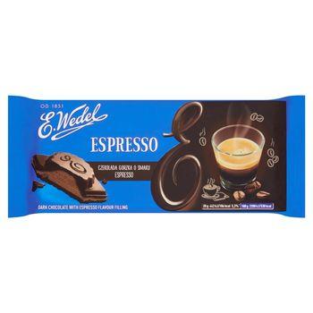E. Wedel Czekolada gorzka o smaku espresso 100 g