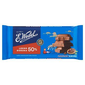 E. Wedel Czekolada lekko gorzka 50% 90 g