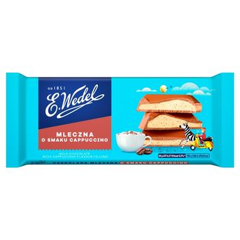 E. Wedel Czekolada mleczna o smaku cappuccino 100 g