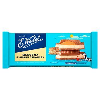 E. Wedel Czekolada mleczna o smaku deseru tiramisu 293 g