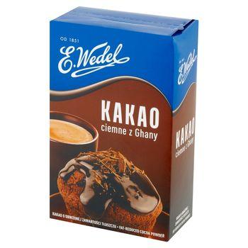 E. Wedel Kakao ciemne z Ghany 180 g