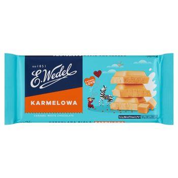 E. Wedel Karmellove! Czekolada biała karmelowa 80 g