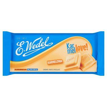 E. Wedel Karmellove! Czekolada biała karmelowa 90 g