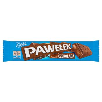 E. Wedel Pawełek Batonik mleczny czekolada 45 g