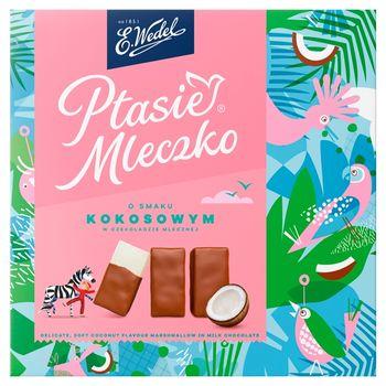 E. Wedel Ptasie Mleczko o smaku kokosowym 360 g