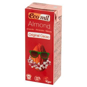 EcoMil Napój migdałowy z kakao 200 ml