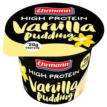 Ehrmann Deser mleczny waniliowy z wysoką zawartością białka 200 g