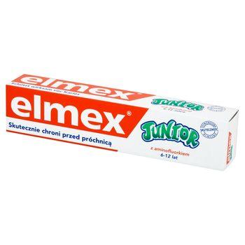 elmex Junior Pasta do zębów z aminofluorkiem dla dzieci 6-12 lat 75 ml