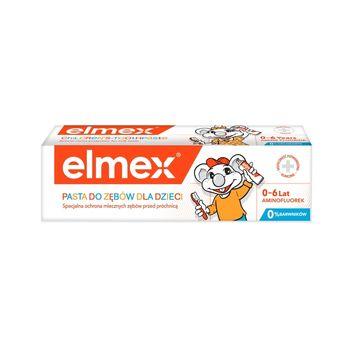 elmex Kids Pasta do zębów dla dzieci z aminofluorkiem 0-6 lat 50 ml