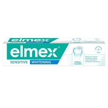 elmex Sensitive Whitening Pasta do zębów z aminofluorkiem 75 ml