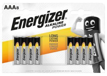 Energizer Alkaline Power AAA-LR03 1,5 V Baterie alkaliczne 8 sztuk