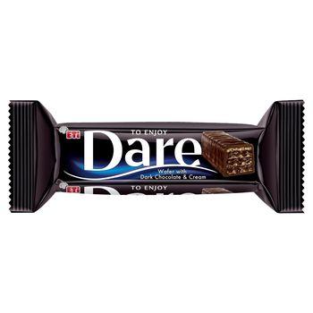 Eti Dare Wafel w czekoladzie z kremem czekoladowym 50 g