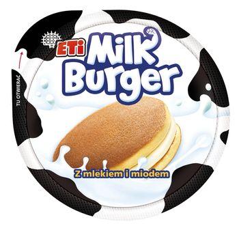 Eti Milk Burger Ciastko z mlekiem i z miodem 35 g