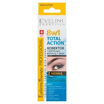 Eyebrow Therapy Professional 8w1 Total Action korektor stopniowo barwiący brwi