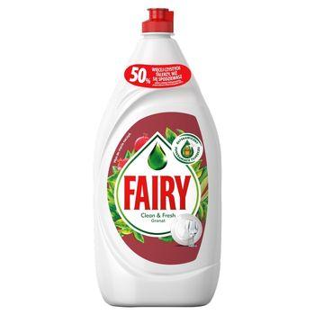 Fairy Clean & Fresh Granat Płyn do mycia naczyń 1,35 l