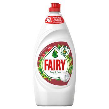 Fairy Clean & Fresh Granat Płyn do mycia naczyń 900ml