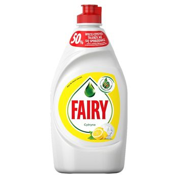 Fairy Cytryna Płyn do mycia naczyń 450 ml