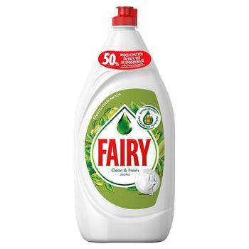 Fairy Clean & Fresh Jabłko Płyn do mycia naczyń 1,35 l