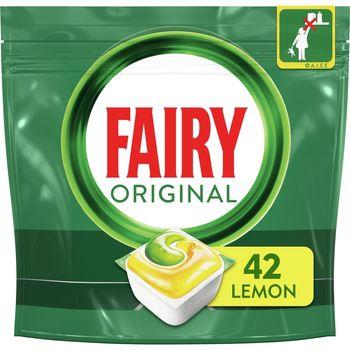 Fairy Original All In One Cytryna Tabletki do zmywarki, x42