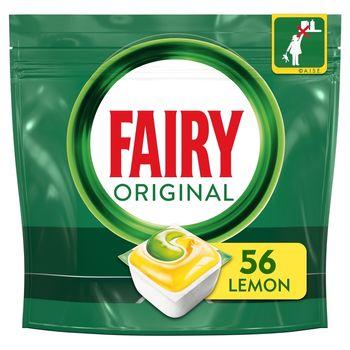 Fairy Original All In One Cytryna Tabletki do zmywarki, x56