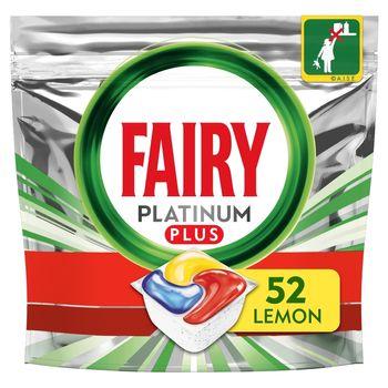 Fairy Platinum Plus All In One Cytryna Tabletki do zmywarki, x52