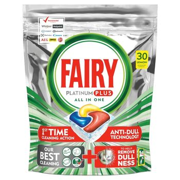 Fairy Platinum Plus All In One Regular Tabletki do zmywarki, x30