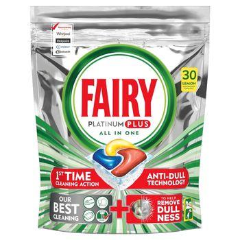 Fairy Platinum Plus Cytryna Kapsułki do zmywarki, 30 kapsułek