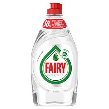 Fairy Pure & Clean Płyn do mycia naczyń bez perfum i barwników 450 ml