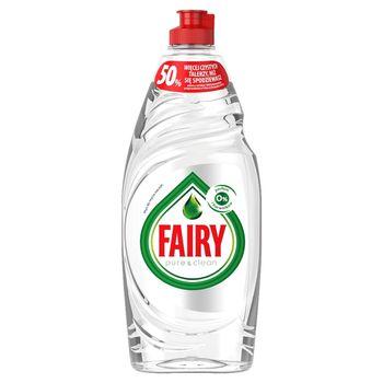 Fairy Pure & Clean Płyn do mycia naczyń bez perfum i barwników 650 ml