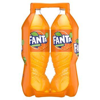 Fanta Pomarańczowa Napój gazowany 2 x 1,5 l