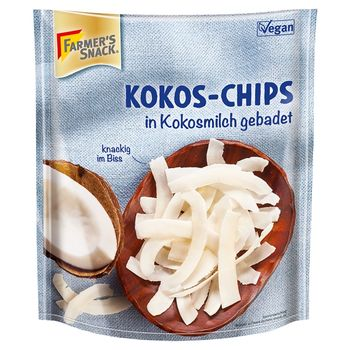 Farmer's Snack Chipsy kokosowe 100 g