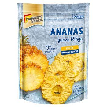 Farmer's Snack Krążki ananasa suszone 120 g