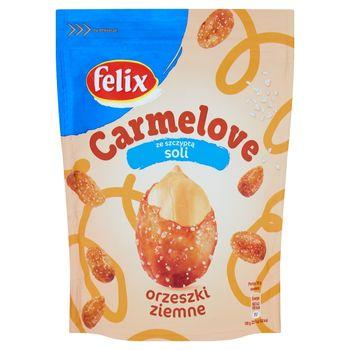 Felix Carmelove Orzeszki ziemne w karmelu ze szczyptą soli 160 g