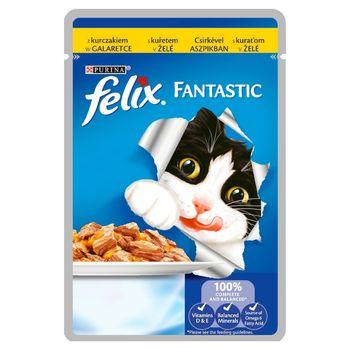 Felix Fantastic Karma dla kotów z kurczakiem w galaretce 100 g