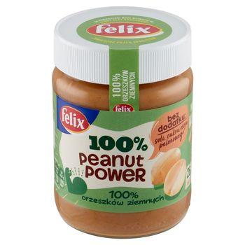 Felix Peanut Power 100% Pasta orzechowa 350 g