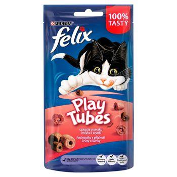 Felix Play Tubes Łakocie o smaku indyka i szynki 50 g