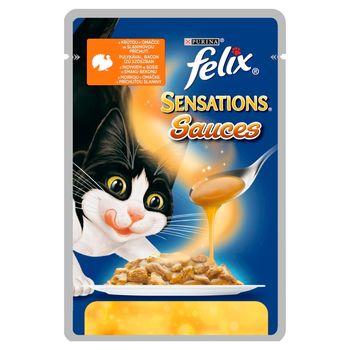 Felix Sensations Sauces Karma dla kotów z indykiem 100 g