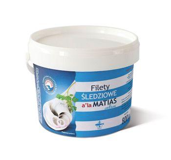 Filety śledziowe a'la Matias 800 g