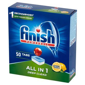 Finish All in 1 Lemon Tabletki do mycia naczyń w zmywarce 800 g (50 sztuk)