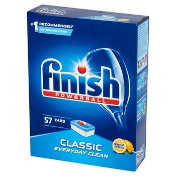Finish Classic Lemon Tabletki do zmywarki 912 g (57 sztuk)