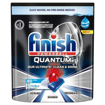 Finish Quantum Ultimate Kapsułki do mycia naczyń w zmywarce 500 g (40 sztuk)