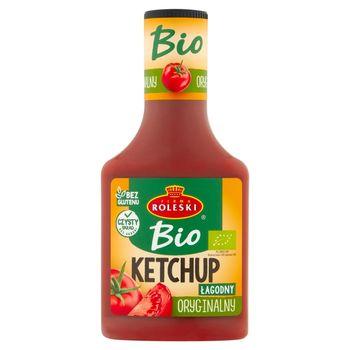 Firma Roleski Bio Ketchup oryginalny łagodny 340 g